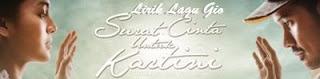 Lirik Lagu Gio - Surat Cinta Untuk Kartini