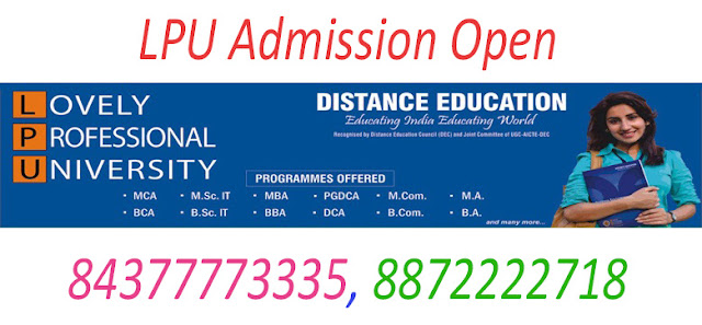 BA Distance/Correspondence Education From LPU in Chandigarh, Mohali