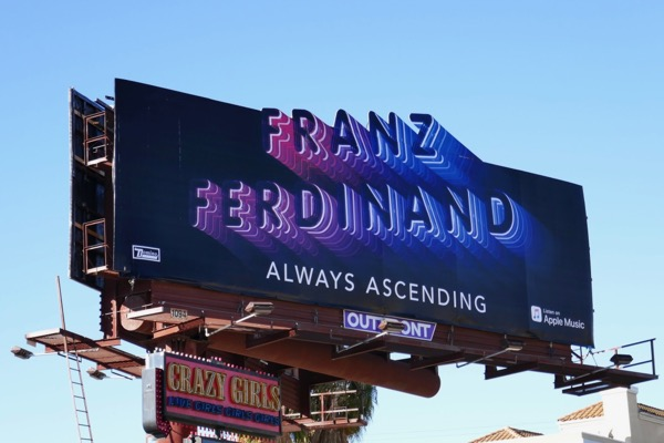Franz Ferdinand Always Ascending billboard