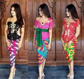 Model Kebaya Bali Untuk Anak Muda Modern
