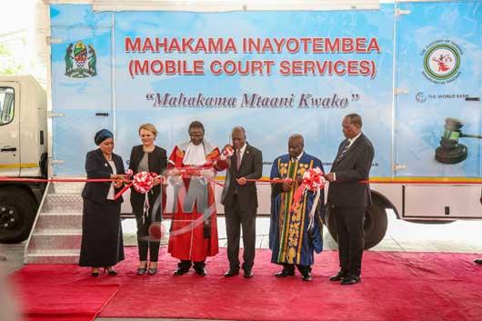 Rais Magufuli azindua 'mahakama inayotembea', wananchi kesi zao kusikilizwa mtaani