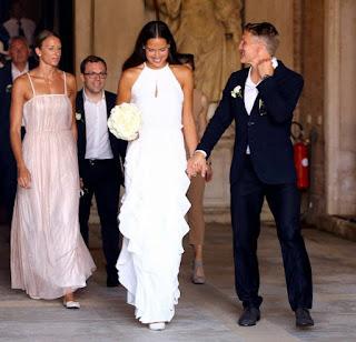 The Wedding Of Bastian Schweinsteiger And Ana Ivanovic Venice Italy Jul
