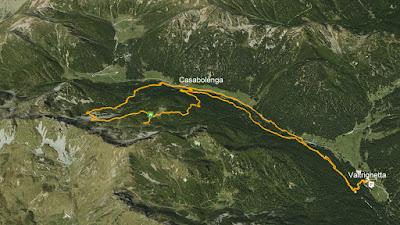 GPS Baito Forestale Telve di Sopra Casarote