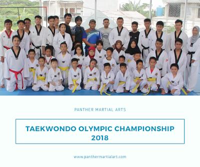 Panther Martial Arts Ikut Serta Di Ajang Kejuaraan Nasional Taekwondo Olympic Championship 2018