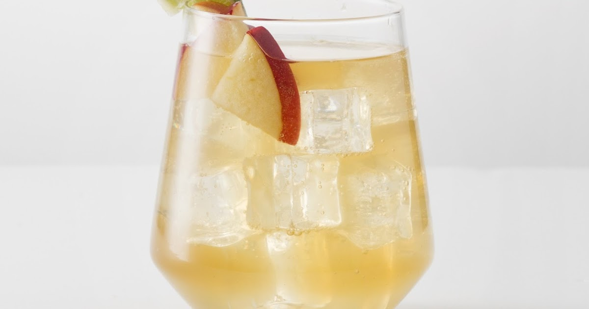 Apple Pie Drink With Everclear And Brown Sugar