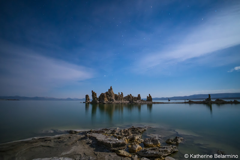 Mono Lake at Night Self-Guided Photography Tour of Mammoth Lakes