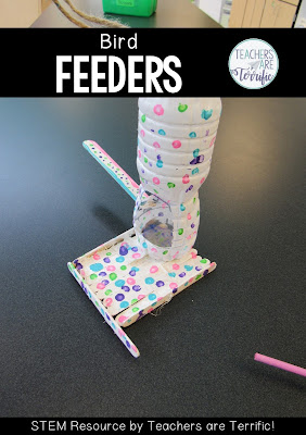 Are you ready for a STEM challenge that involves seeds? This post will share resources about ways seeds are dispersed, designing a 3-D flower parts model, and designing a bird feeder. Resources include teacher's guides, lab sheet, scoring rubrics, and photos! #STEM #elementary
