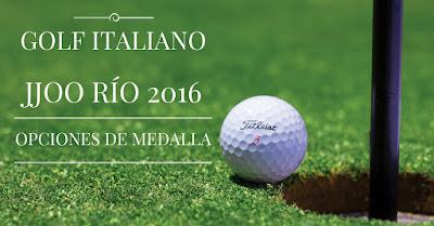 Massimo Filippa El golf italiano en los JJOO de Río 2016