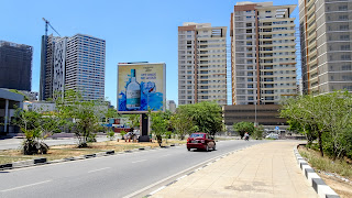 On the journey through Luanda