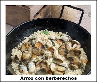 Arroz Meloso Con Berberechos