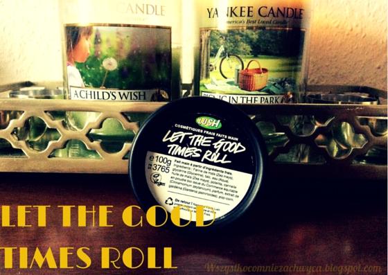 Lush, Let The Good Times Roll, czyścik do twarzy