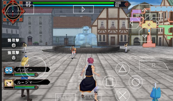 Download Fairy Tail : Zelef Kakusei ISO PPSSPP