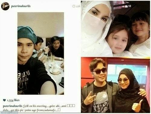 Fiza Elite padam semula gambar Adam AF di Instagram