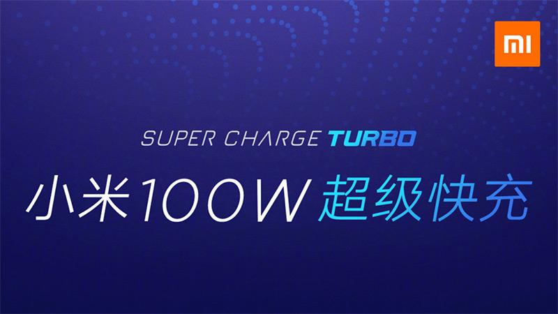 xiaomi fastcharging 100watt