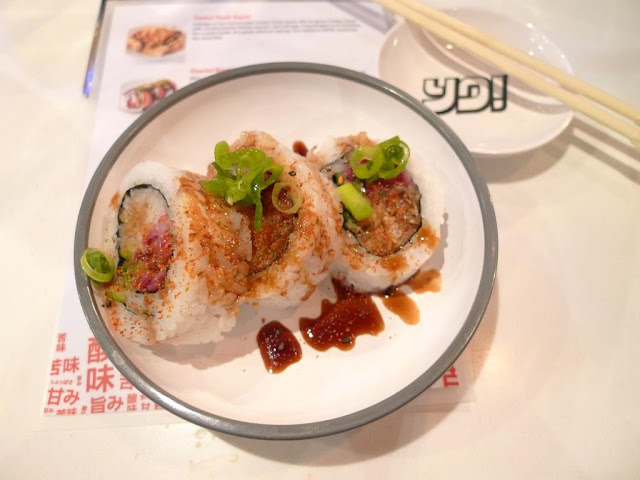 SEARED BEEF ROLL without the beef