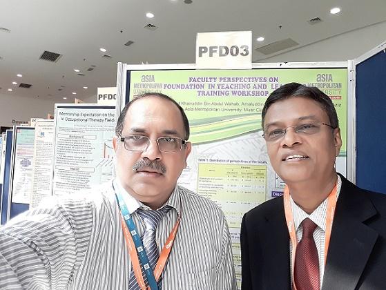 With Professor Dr Nurul Islam at IMEC-2017, Malaysia
