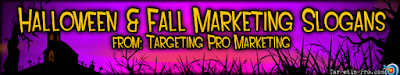 Halloween Marketing Help - Targeting Pro