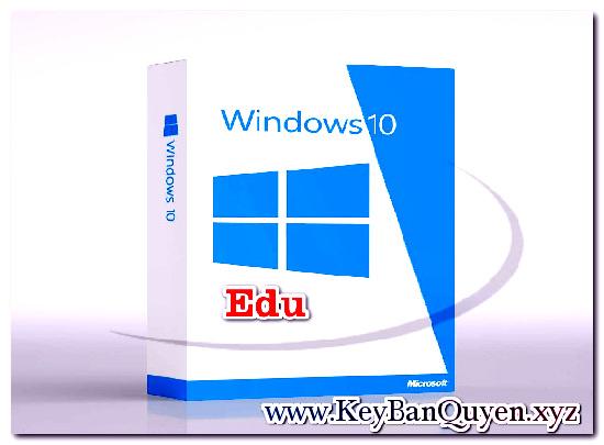 Mua bán key Windows 10 Education bản quyền Full 32 và 64 Bit