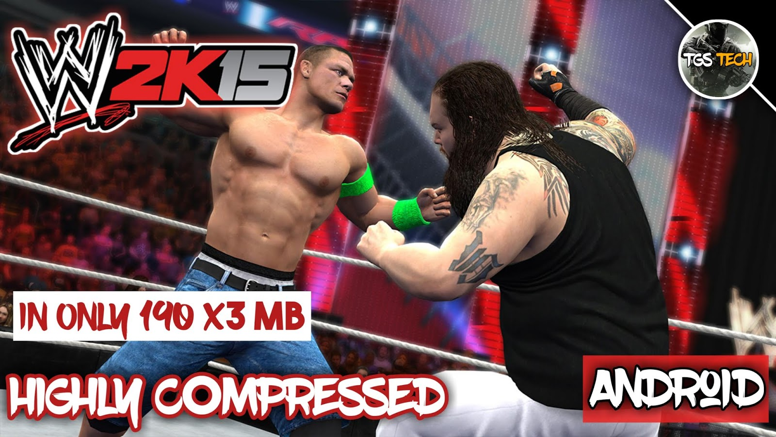 How to Download WWE 2k15 In android highly compressed in