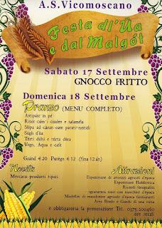 Festa dl'Ua e dal Malgòt 17 - 18 settembre Casalmaggiore (CR)