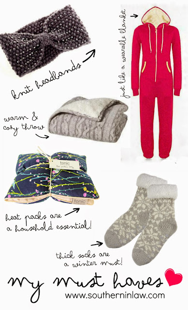 My Winter Must Haves 2015