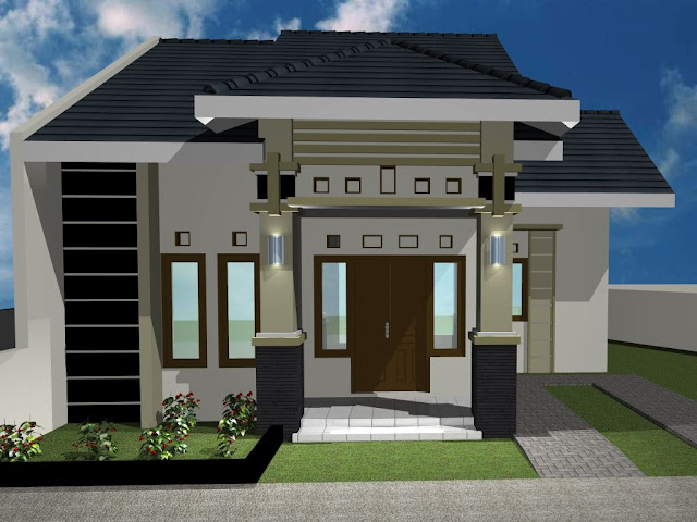 Desain Rumah Minimalis Asri