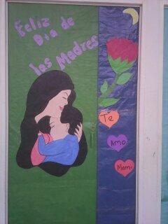 Cajitas de sue os puertas decoradas para el dia de las madres for Puertas decoradas para el 10 de mayo