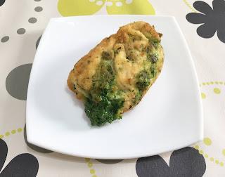Pollo relleno de queso manchego y espinacas