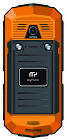 Telefon myPhone Hammer orange z Biedronki