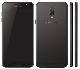 Gambar Samsung J7 Plus warna hitam
