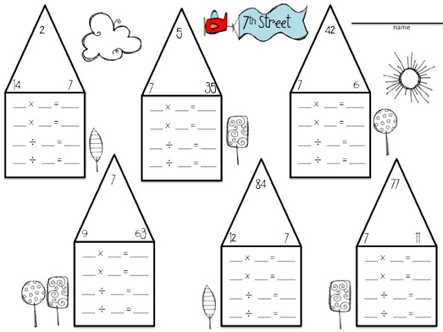 5th Grade » Partial Quotient Division Worksheets 5th Grade