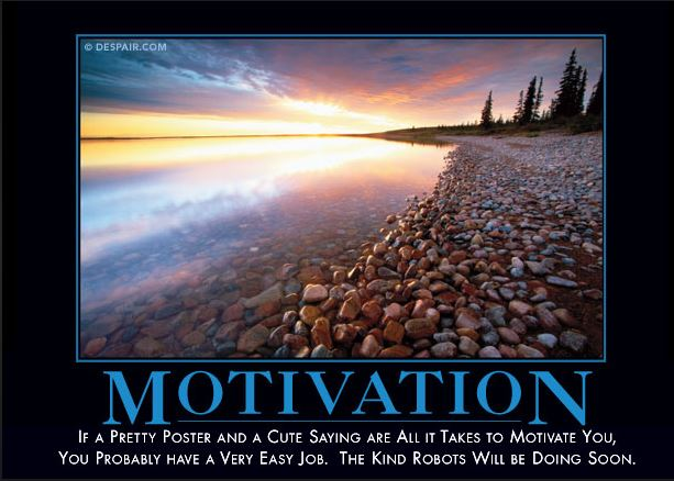 Motivational Products Dont Work But Our Demotivator Even Better Insist The Pundits At Despair Company Is Best Known For