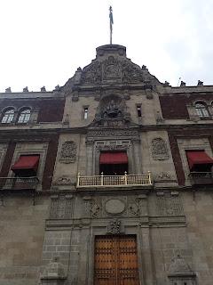 Mexico City National Palace President's Balcony