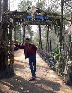 Pintu Gerbang Goa Pinus Pujon, Batu
