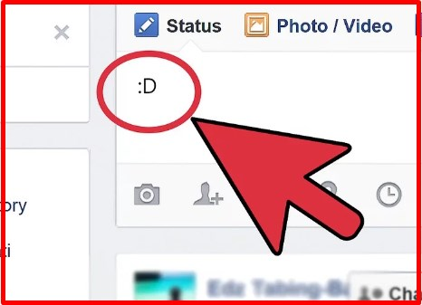 how to make emojis on facebook with keyboard