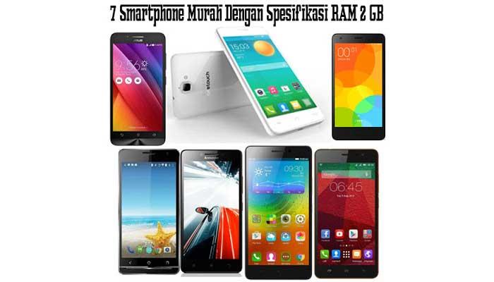 7 Smartphone Murah Dengan Spesifikasi RAM 2 GB