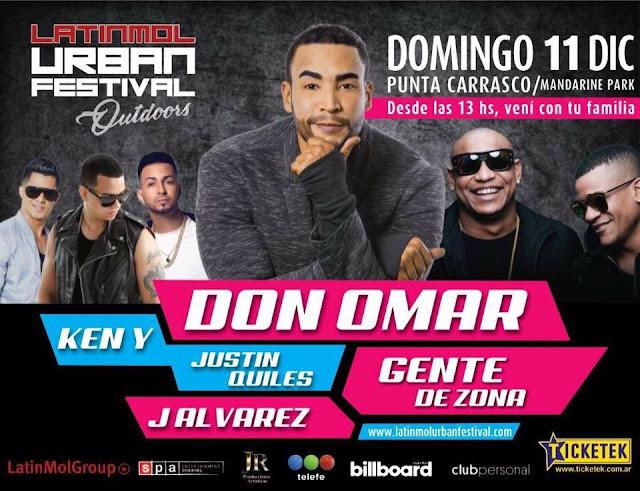 Latinmol Urban Festival.