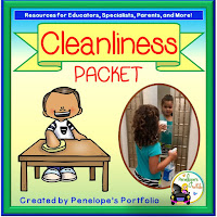 cleanliness character education packet