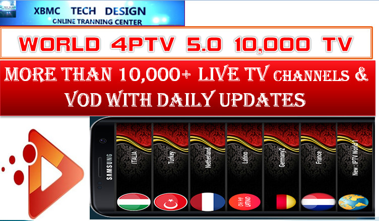 Download World4PTV5.0 APK- FREE (Live) Channel Stream Update(Pro) IPTV Apk For Android Streaming World Live Tv ,TV Shows,Sports,Movie on Android Quick World4PTV IPTV-PRO Beta IPTV APK- FREE (Live) Channel Stream Update(Pro)IPTV Android Apk Watch World Premium Cable Live Channel or TV Shows on Android