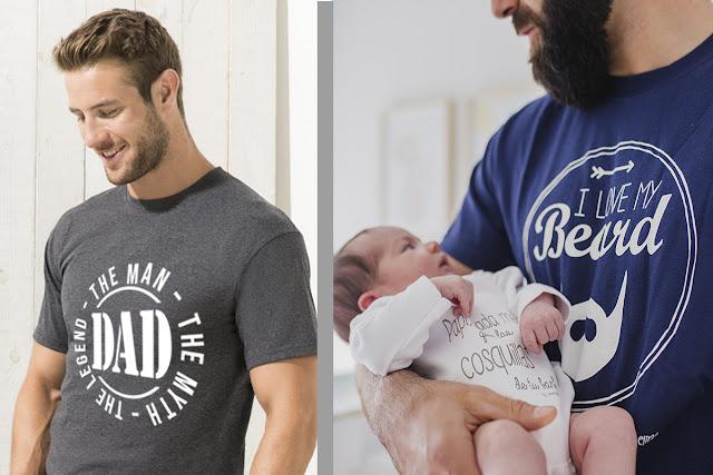 ideas para regalo día del padre mimuselina camiseta papá me gusta mi barba padre hombre mito leyenda