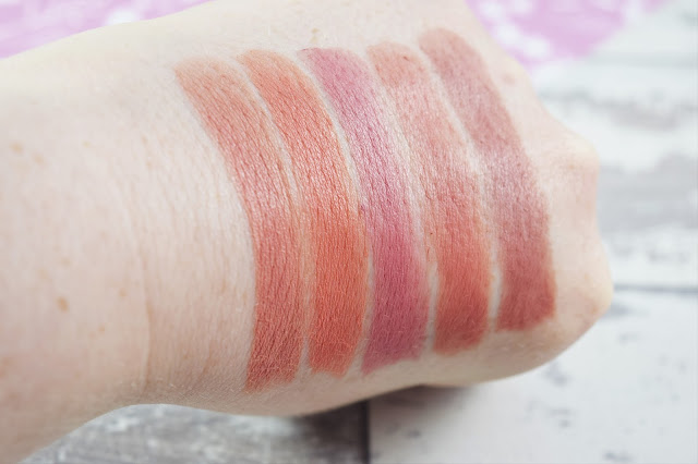 Models Own Dare To Bare Semi-Matte Lipstick Swatches