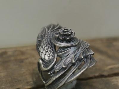 Dual Flow Special Made - Lotus Flow Ring