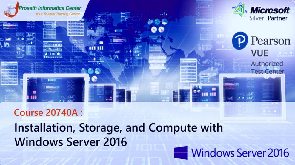 Video Hướng dẫn học Windows Server 2016 ( 70-740 )