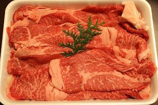 Fatty Pork Steaks, Uncooked