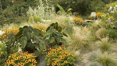 Jardín experimental Sarobe Garaño en Oiartzun (Lur Garden)