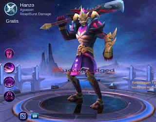 Hanzo Lemah! Inilah Kekurangan Hero Hanzo Mobile Legends