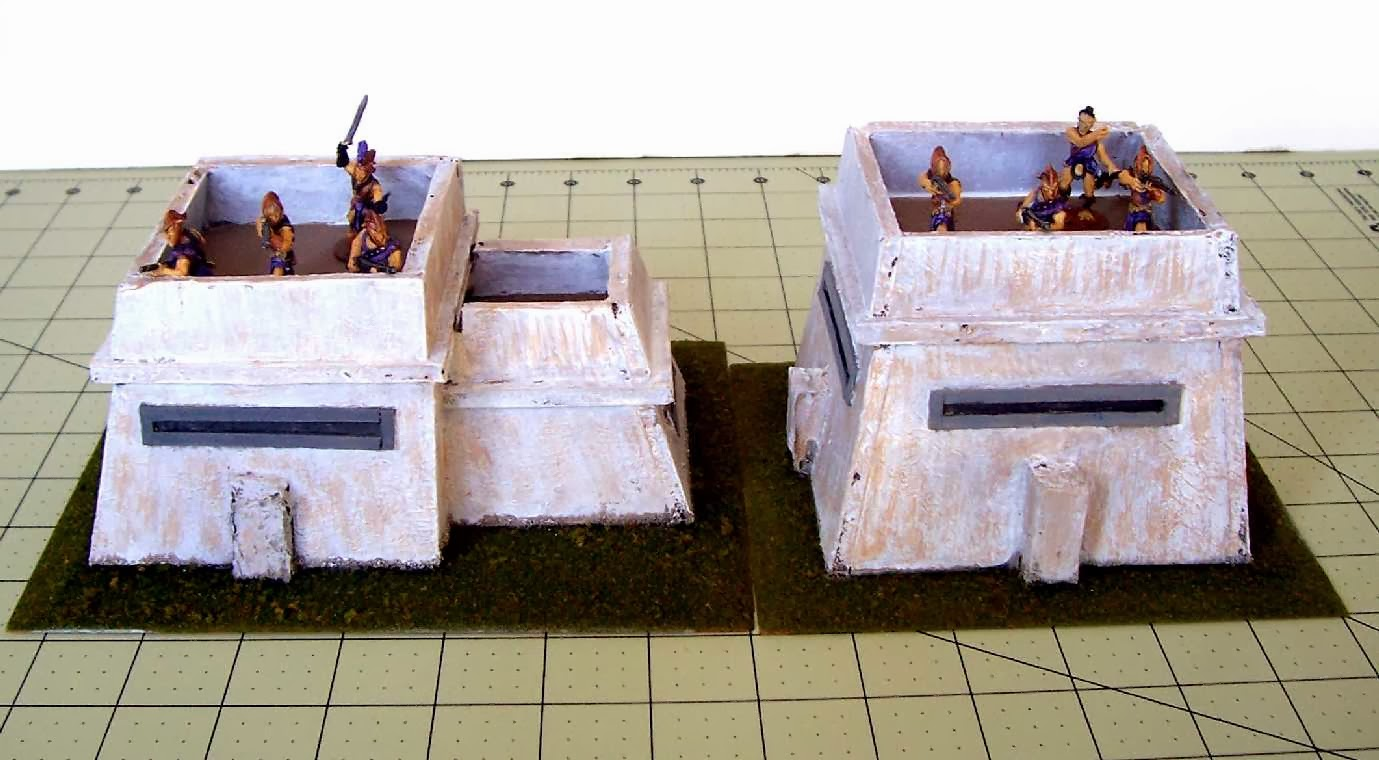 The Burning Sands of Syrtis Major: 28mm Martian Blockhouses