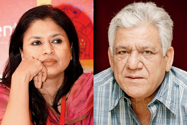Om Puri wife Seema kapoor