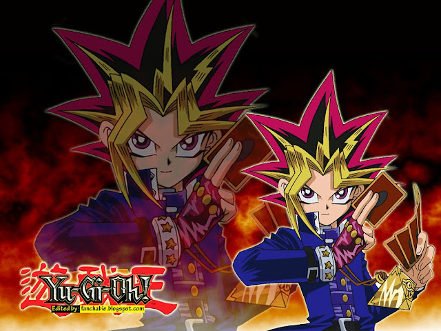 Yugi With game card