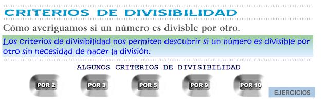 http://www.eltanquematematico.es/todo_mate/multiplosydivisores/divisibilidad/divisibilidad_p.html